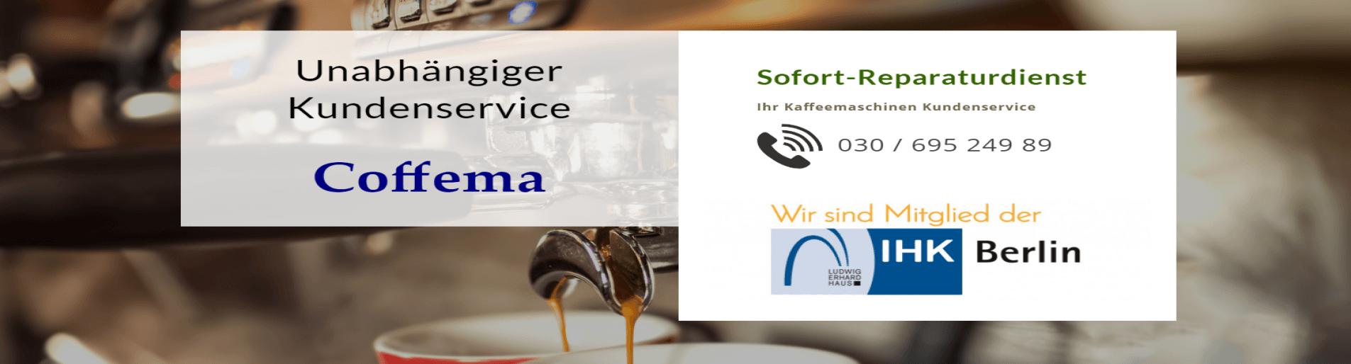 Coffema Kaffeemaschinen Reparatur