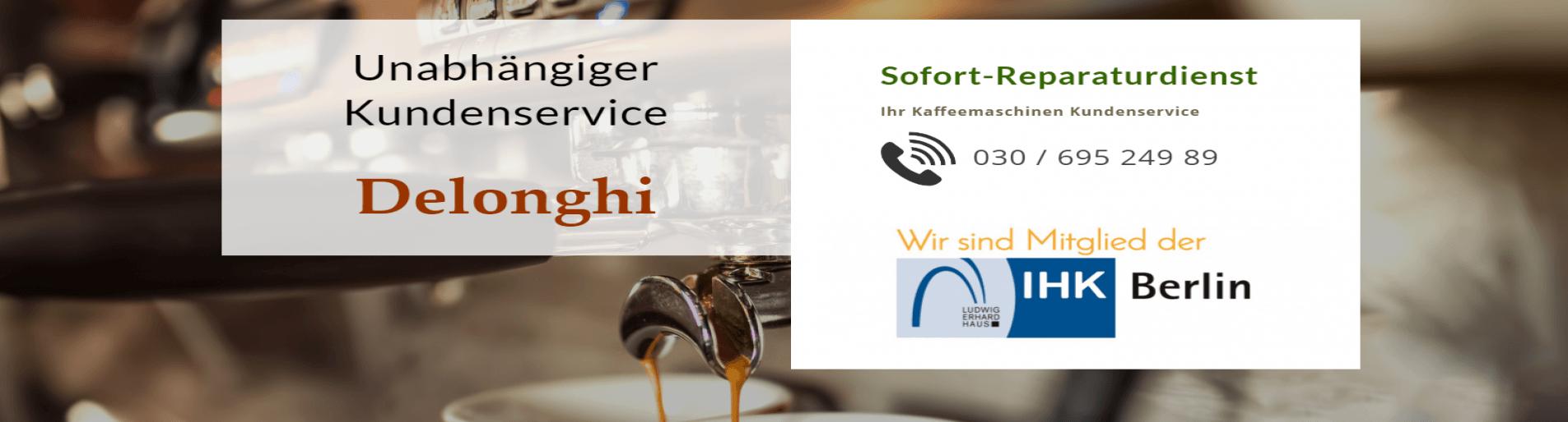 Delonghi Kaffeemaschinen Reparatur