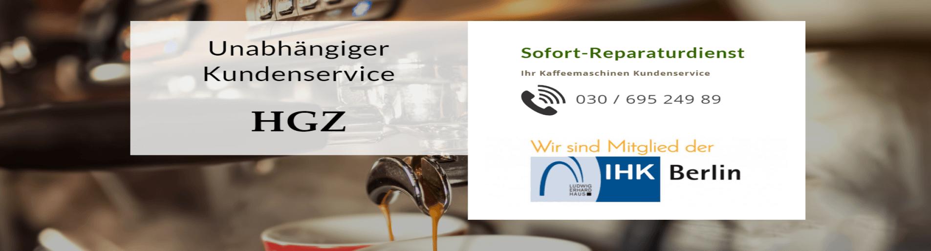 HGZ Kaffeemaschinen Reparatur